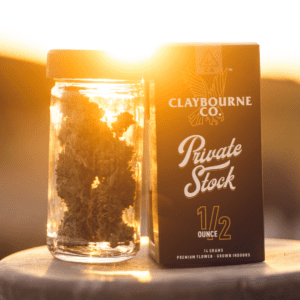 Claybourne Co. Private Stock Half Ounce flower