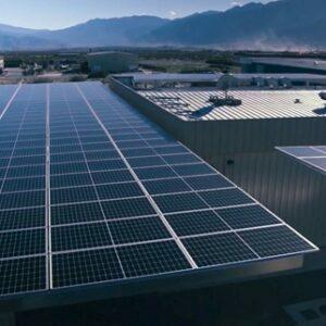 Canndescent solar panels